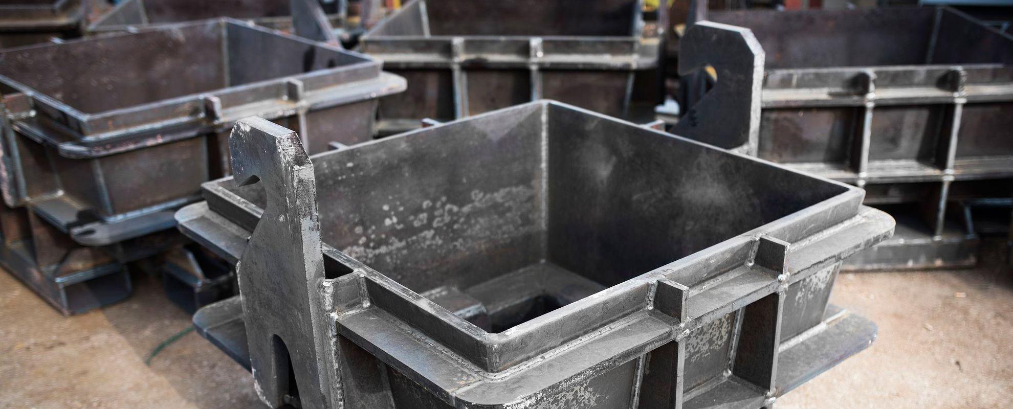Металообработка и производство на стоманени корпуси за машини и части за машини