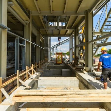 Инсталация за сухи строителни смеси Баумит